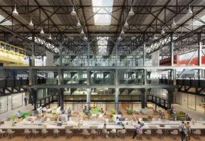 De LocHal biedt plaats aan de openbare bibliotheek, co-werk ruimtes, kunstenonderwijs en een grote stadshal voor publieke evenementen. Bezoekers kunnen er media bekijken en lenen, maar ook samen nieuwe kennis ontwikkelen.