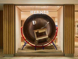 Visser & Meijwaard, House of Play: Hermèsetalages voor de Hong Kong flagshipstore.
