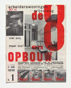 Nummer van De 8 en Opbouw , 11 januari 1936. Particuliere collectie in Nederland, met dank aan DerdaBerlin