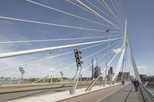 De Erasmusbrug is een ontwerp van UNStudio
