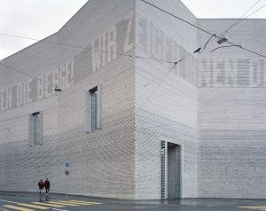 Winnaar Brick Award 2018 grand prize: Kunstmuseum Basel. Architecten: Emanuel Christ, Christoph Gantenbein; foto: Rory Gardiner