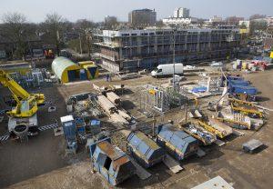 De bouwsector zal ingrijpende maatregelen moeten nemen om al het afval dat tijdens de bouw van nieuwe gebouwen ontstaat rigoureus omlaag te brengen