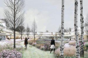The Nolli Gardens, 1e prijs Europan 13. Stedenbouwkundig plan en twee woongebouwen voor de wijk Kortephohja in Centraal Finland. HOH Architects.