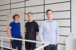 Freyke Hartemink, Jarrik Ouburg en Carsten Hilgendorf richtten in 2017 HOH Architects op.