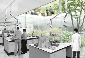 Uitbreiding hoofdkantoor IFF Hilversum. HOH Architects.