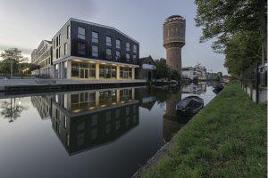 Ten noorden van Keramus staat de watertoren en de oude Pastoefabriek, nu HKU. Foto Walter Frisart / FOTOWERK