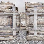 erwoest huis Piet Mondriaanstraat Sloopsculpturen van Marjan Teeuwen