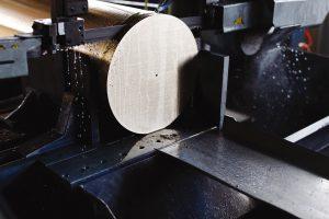 Aan het eind van het productieproces blijft slechts 10 procent van het oorspronkelijke materiaal over