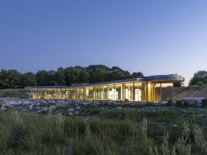 Paviljoen Holtingerzand Havelte, ontwerp JDdV Architecten, 2018