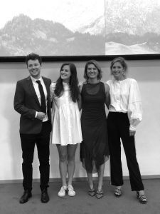 AREA team: Ryan McGaffney, Karolina Bäckman, Isabella van der Griendt, Charlotte Uiterwaal.