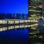 Baljon architecten Golvende Brug Beukenhorst