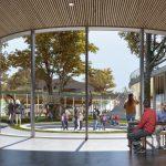 Unie Architecten en Felixx ontwerpen Campus Eemsdelta Eemsdelta Render Centrale Hart