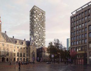 ODA Post Rotterdam, naast het stadhuis aan de Coolsingel