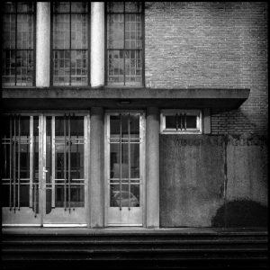 Kantoorpand De Herder St. Jobstraat, 1940-1949 architect Ph. Kanters, renovatie 1998 architect Eric Bakema  ● Foto Miriam van der Hoek 2019.