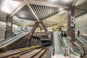 Noord Zuid lijn Amsterdam. Foto: Jannes Linders