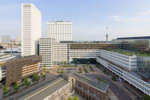 Erasmus, Rotterdam. Foto:  Rob van Esch