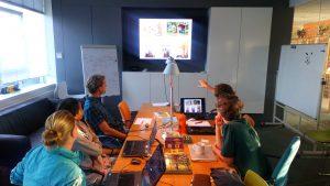 Naast de onlinelessen heeft de Tiny House Academy een cursusruimte in Schiemond