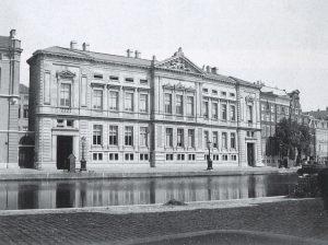 Voorgevel uit 1869. Foto Allard Pierson Museum