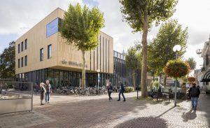 Bibliotheek aan de Stromarkt. Foto: BiermanHenket architecten