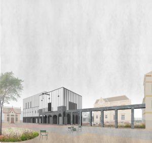 Aanzicht Kunstwerf Groningen