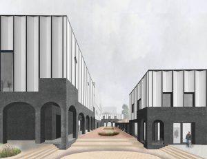 Binnengebied Kunstwerf Groningen