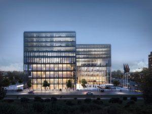 Nieuwe rechtbank Amsterdam. Kaan Architecten