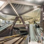 Noord Zuid lijn Amsterdam stations by Benthem Crouwel architects Amsterdam
