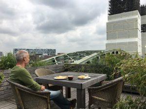 Huis van architect Paul Lageschaar. Naast de brug De Hef. Foto: Emilia deVivo