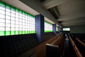 H.P. Berlage, interieur First Church of Christ Scientist Den Haag. Foto: Erik Rijper