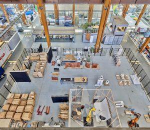 De robotworkshop van Studio RAP