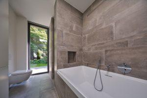 nieuwe badkamer op oude plek