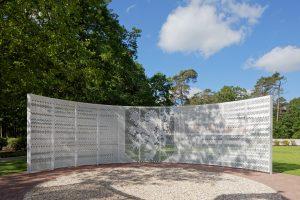 Het focuspoint van de Wall of Fame is de de leeuw van Oranje