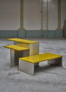 Keukentafel en -bank ontworpen voor Das Haus