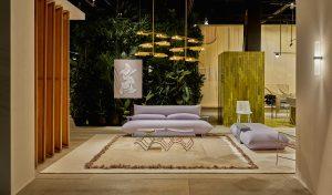 Das Haus IM Cologne 2019, waarvoor Truly Truly met eigen designs en meubels van anderen vier overlopende woonsferen ontwierp Foto: Pim Top