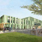 Verplaatsbare school Amsterdam