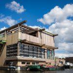 Schoonschip Amsterdam houten ark Valkenier
