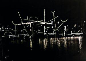 Nacht Tekening door Krijn de Koning