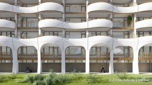 De Wadden balkongevels