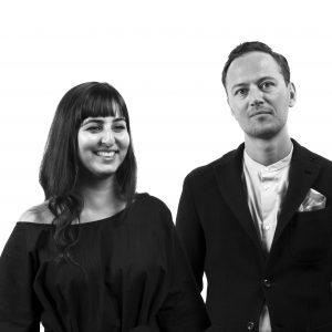 Ruben Rive de la Box en Golnar Roshan van Studio Rive Roshan.