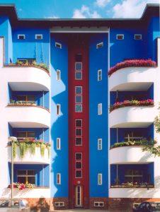 Paul-Heyse Straat Berlijn, 2005. Foto: Brenne Architekten