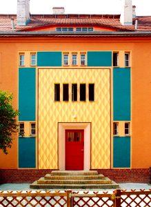 Gartenstadt Falkenberg, Gartenstadtweg, Berlijn. Foto: Brenne Architekten