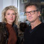 Eline Strijkers en Duzan Doepel