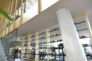ELEGANZA heeft een klasse A geluidsabsorptie en daardoor kunnen hotelgasten in alle rust dineren