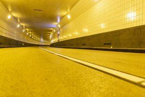 Maastunnel. Foto: Carel van Hees