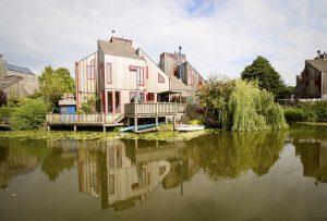 De Vier Vierkanten, Abe Bonnema, Alkmaar-Noord. Foto: Ruben Ferwerda