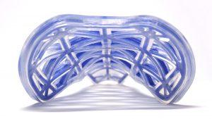 Re:Flex is materiaal waarvan de vorm met warmte kan worden geherprogrammeerd