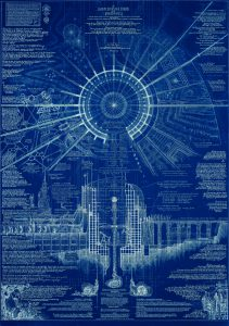Blueprint The Babylonian Tower of Modernity