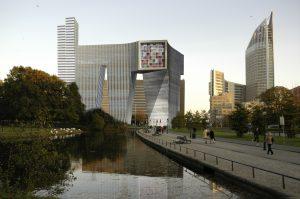Ontwerp 'Koningin Julianaplein' (beter bekend als de M), Office for Metropolitan Architecture, 2008-2010. Copyright OMA