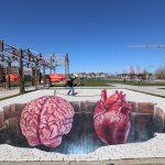 Hartverwarmend kunstwerk stadslab RAUM