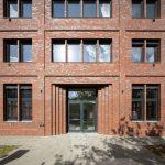 baksteen Kantoorgebouw Wilhelm23 rijk aan baksteendetails
